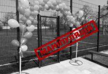 Photo of Футбольні поля для шкіл Краматорська   Кандидат в мери міста МАНІПУЛЮЄ питанням – за чий рахунок побудовані ці майданчики