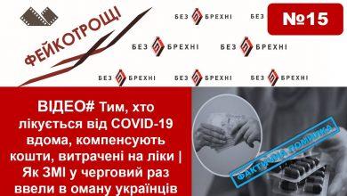 Photo of ВІДЕО# Тим, хто лікується від COVID-19 вдома, компенсують кошти, витрачені на ліки   Як ЗМІ вкотре ввели в оману українців