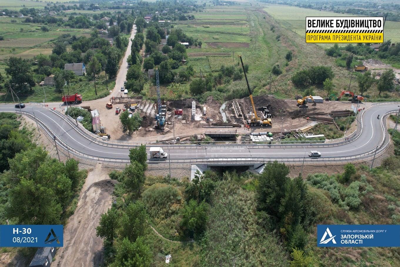 Об'їзний тимчасовий міст на р.Кільтичія на час реконструкції аварійного мосту